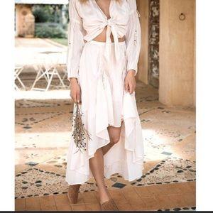 Seashell Ruched Skirt 🐚